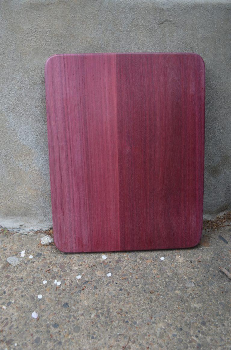 Purple Heart Cutting Board